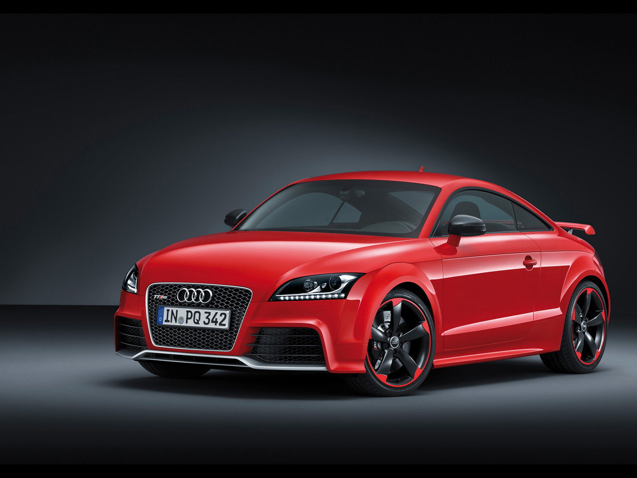 2012 Audi TT RS plus Front And Side Audi TT RS Plus