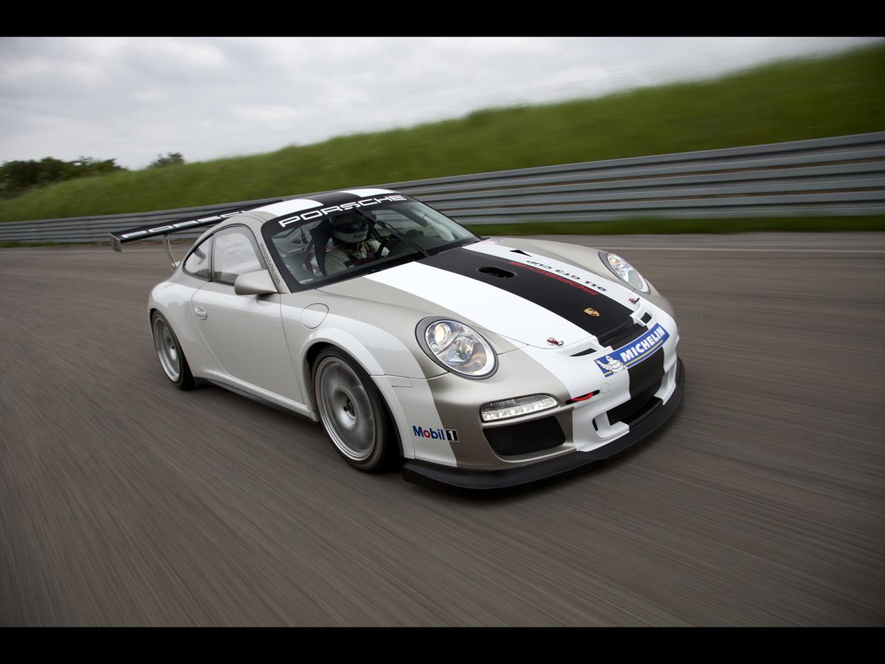 2012 Porsche 911 GT3 Cup Front Angle Speed Porsche 911 GT3 Cup
