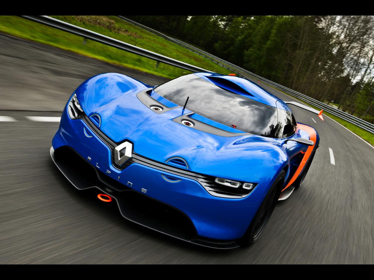 2012 Renault Alpine A110 50 Concept Motion 8 Renault e Caterham vão desenvolver versão de produção do A110 50