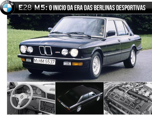 bmw e28 m5 BMW M5   O legado