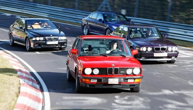 bmw m5 generations BMW M5   O legado