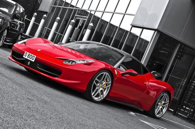 ferrari 458 italia kahn desing 1 630x418 Ferrari 458 Italia Coupe Kahn Design