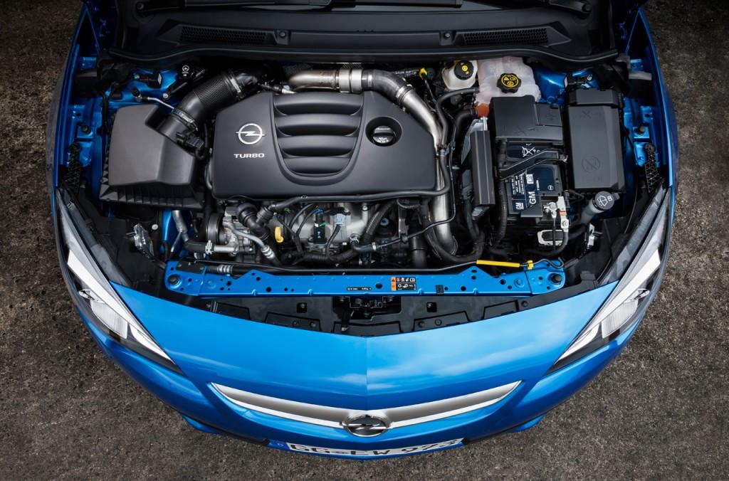 motor astra 1024x676 Motor do novo Astra OPC é recordista em binário