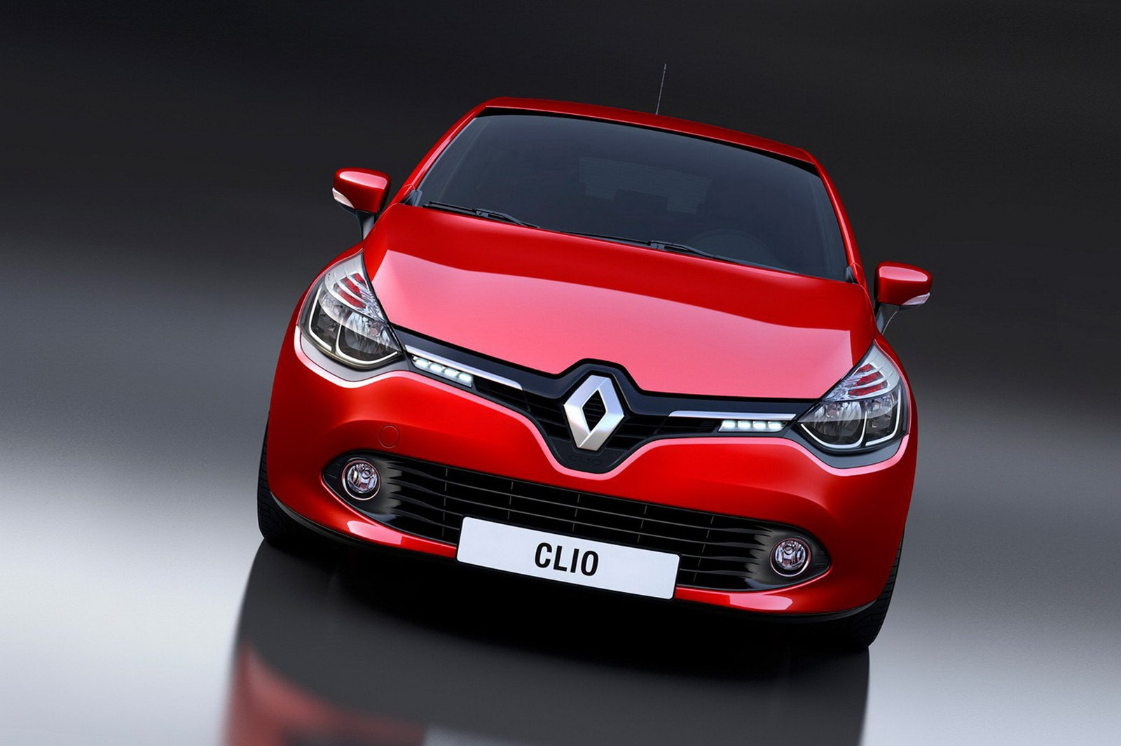 Renault Clio Mk4 Front Grill Bumper Grill Car Styling Bumpers Car Tuning Styling Parts