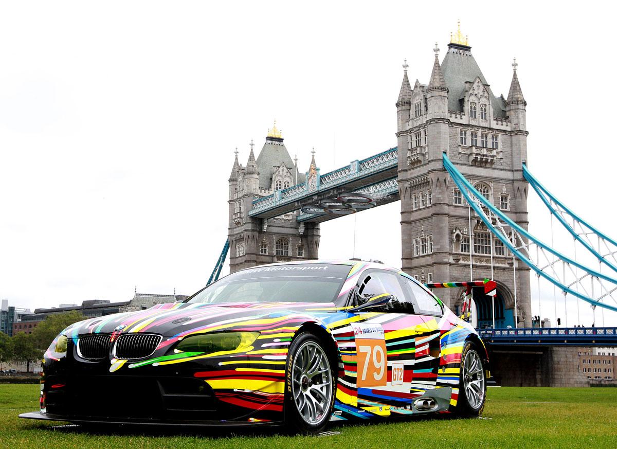 BMW Art Cars Londres Exposição dos BMW Art Cars em Londres