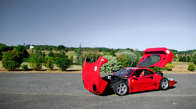 Ferrari F40 desportivo O Ferrari F40