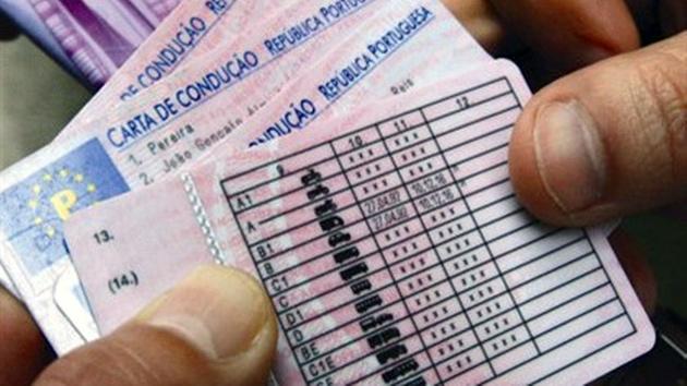 carta de conducao Cartas de condução com alterações em 2013