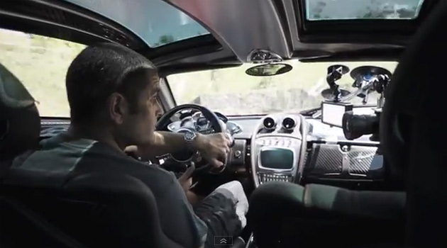 chris harris huayra Chris Harris ao volante do Pagani Huayra