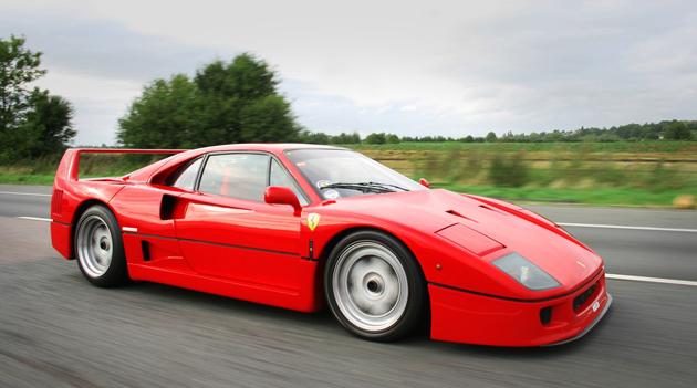 o Ferrari f40 O Ferrari F40