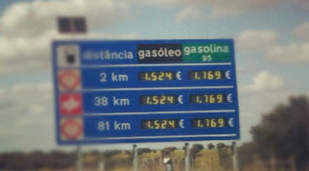 paineis auto estradas combustiveis Paineis das auto estradas provocaram aumento dos preços dos combustíveis