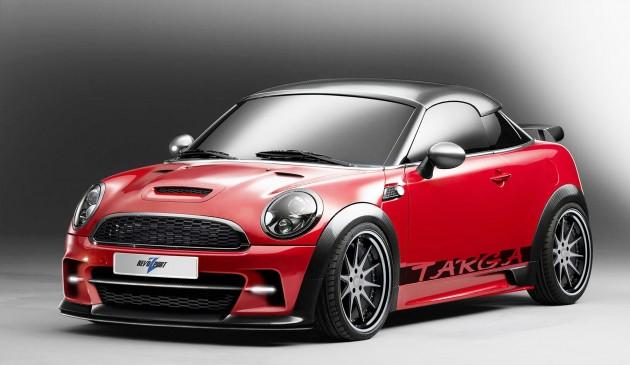 mini targa raze1 630x365  Mini Coupe Targa Raze