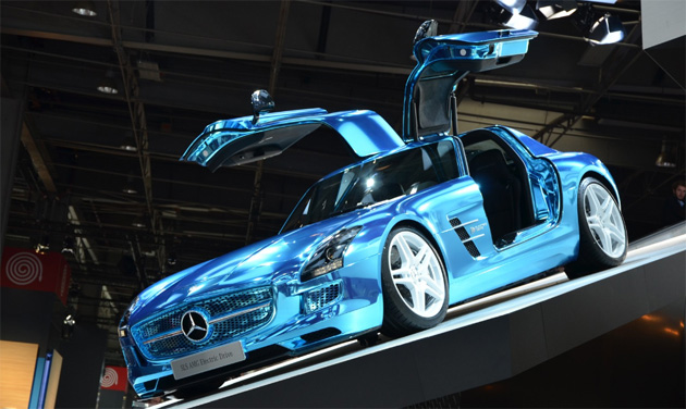 MercedesBenz SLS AMG Electric Drive 16 Mercedes Benz SLS AMG Coupé Electric Drive