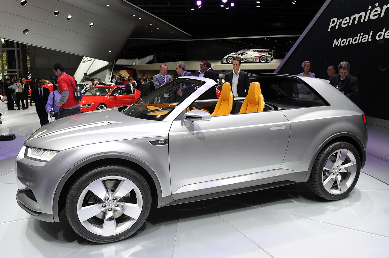 audi crosslane coupe concept paris 01 Audi Q2 Crossline Coupé