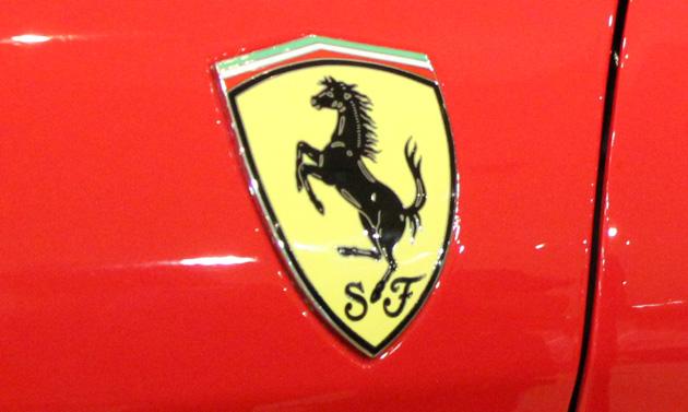 ferrari logo Enzo Ferrari