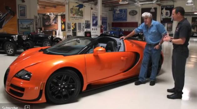 jay leno bugatti Bugatti Veyron 16.4 Grand Sport Vitesse   Jay Lenos Garage