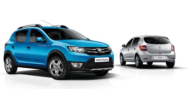 Dacia Sandero e Sandero Ste Novos Dacia Sandero e Sandero Stepway