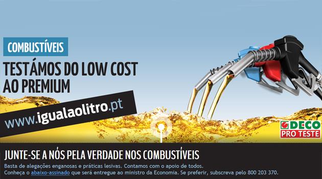 igual ao litro Low Cost ou Premium é tudo igual ao litro!