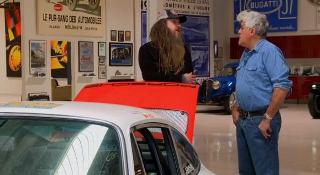 magnus walker jay leno Magnus Walker visita Jay Lenos Garage