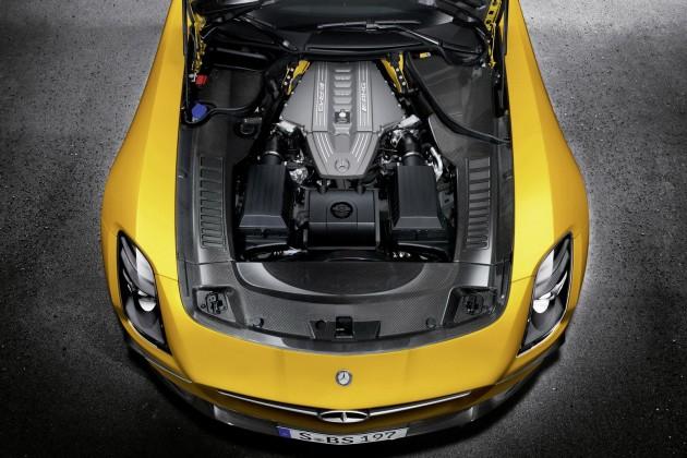 mercedes sls amg black series 20 630x420 SLS AMG Coupe Black Series, AMG Solarbeam, (C 197), 2012