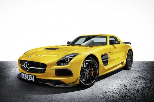mercedes sls amg black series 22 630x420 SLS AMG Coupe Black Series, AMG Solarbeam, (C 197), 2012