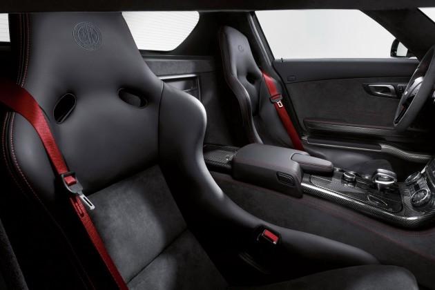 mercedes sls amg black series 25 630x420 SLS AMG Coupe Black Series, AMG Solarbeam, (C 197), 2012