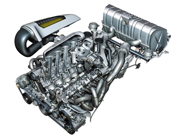 2006 Porsche Carrera GT Cutaway Engine Porsche Carrera GT