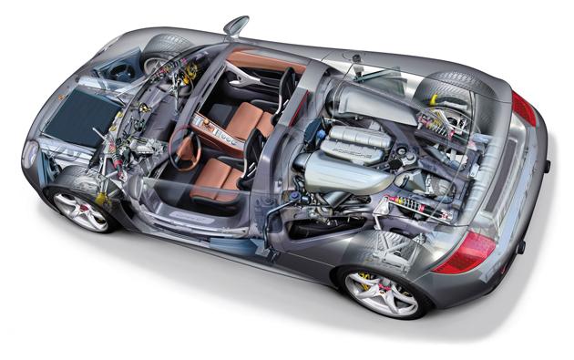 2006-Porsche-Carrera-GT-Cutaway
