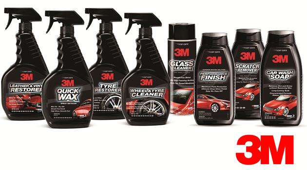 produtos limpeza auto 3M™ lança gama Car Care