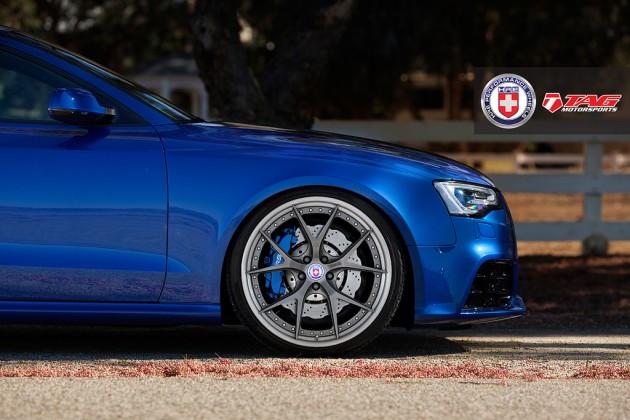 audi rs5 coupe com hre wheels 2 630x420 Audi RS5 com jantes HRE exclusivas