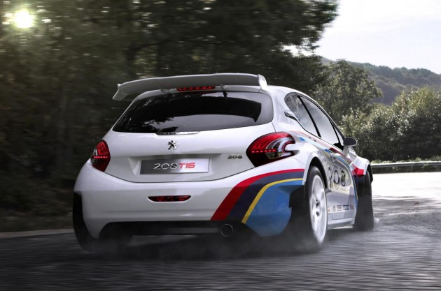 peugeot regressa a pikes peak com loeb e 208 t16. Black Bedroom Furniture Sets. Home Design Ideas