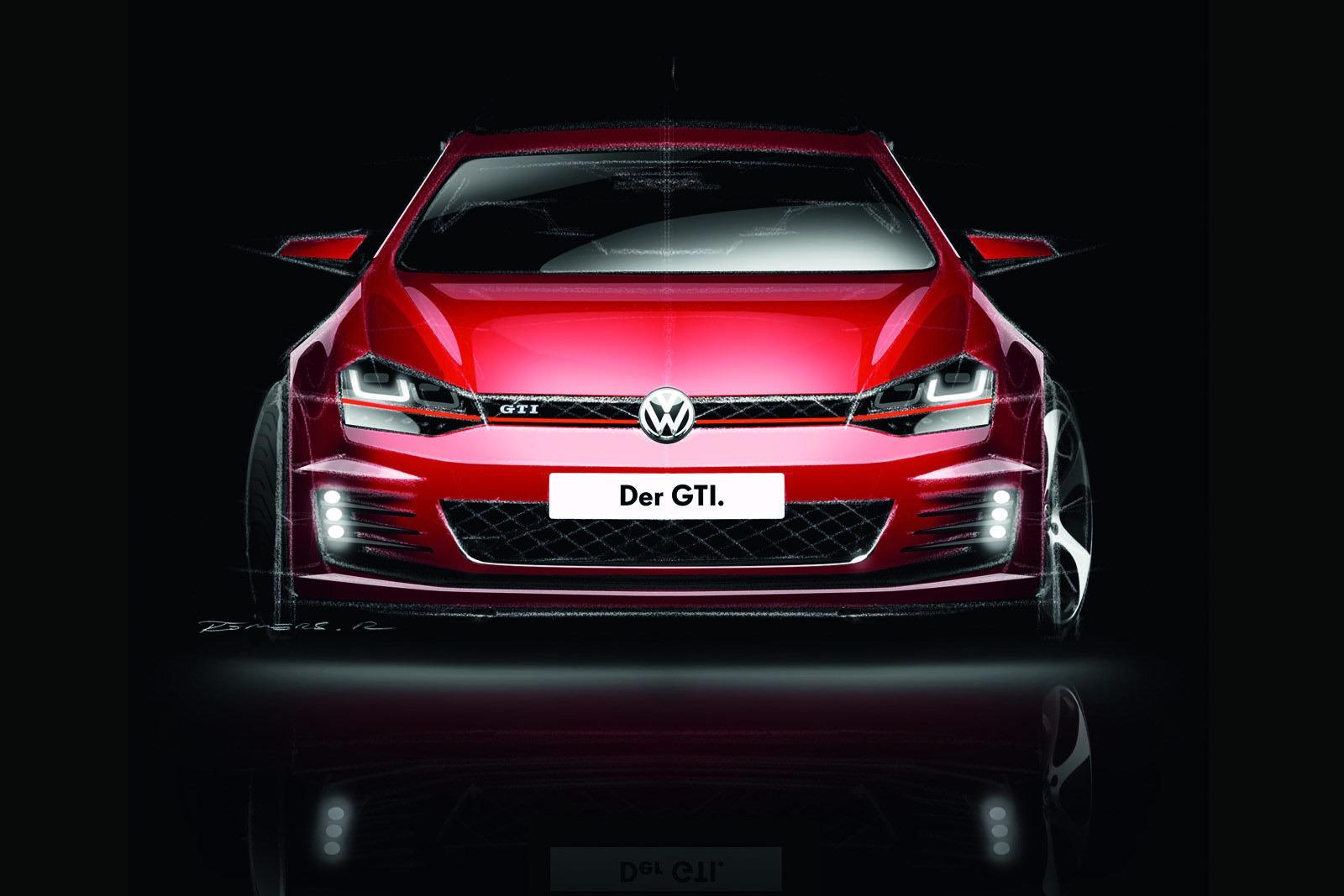 2014 VW Golf GTI 30 O novo VW Golf GTI
