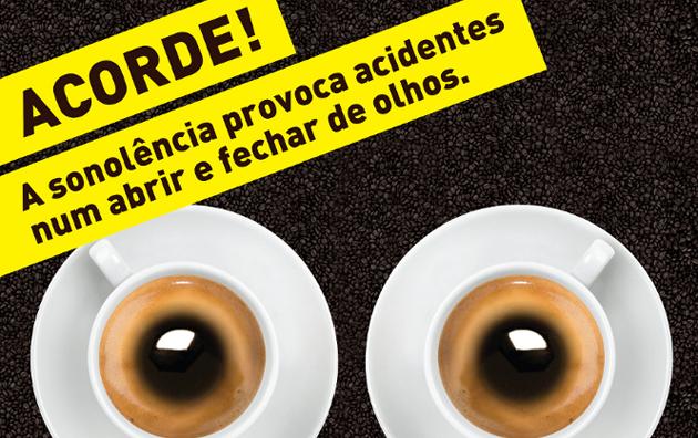 campanha AICC PRP 2 Campanha de Sensibilização Rodoviária 'O Café e o Estado de Alerta'