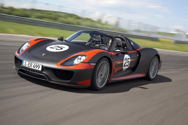 2015 porsche 918 spyder 03 630x419 Fotografias do novo Porsche 918 Spyder