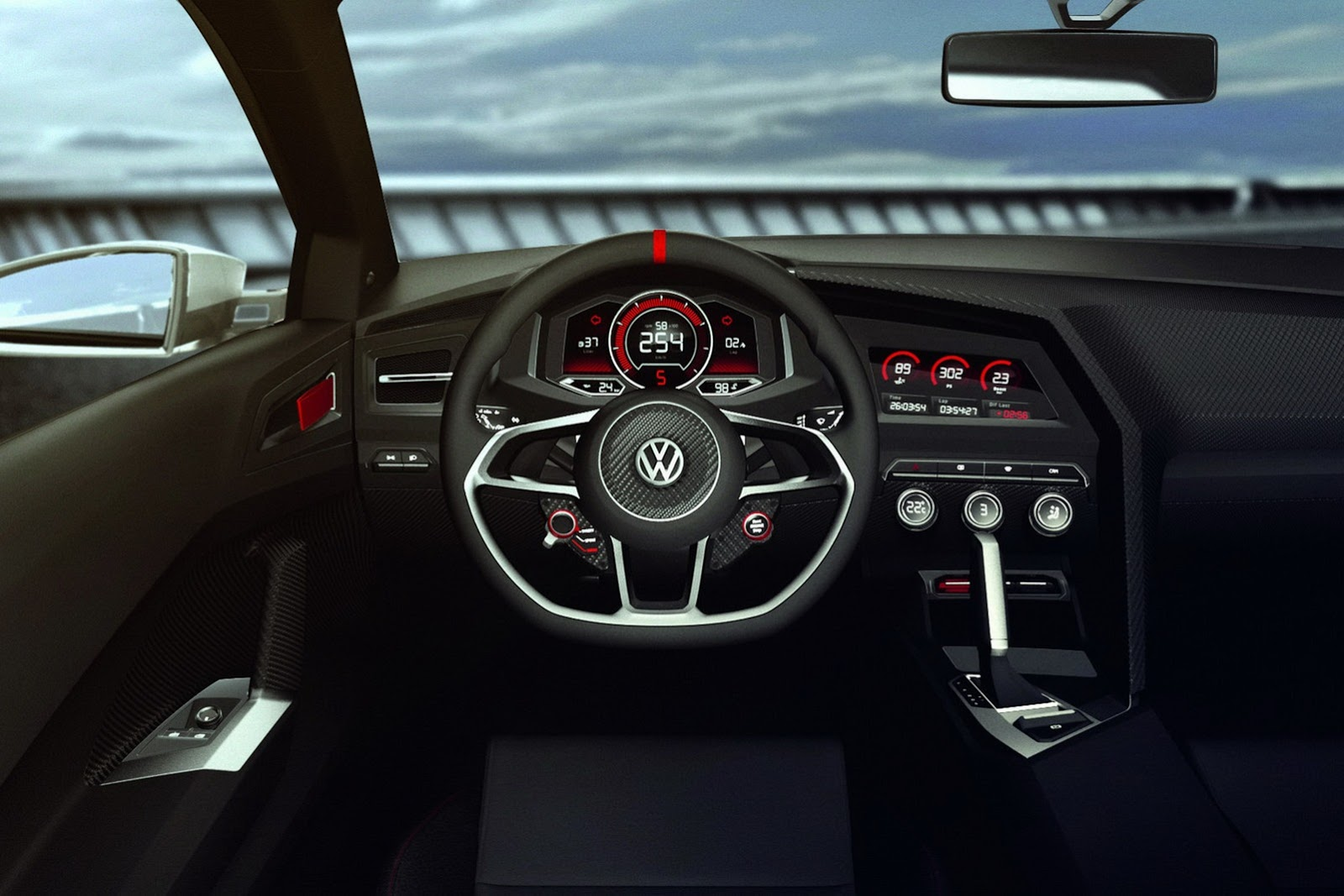 fotografia de vw golf design vision gti 8 autoblog. Black Bedroom Furniture Sets. Home Design Ideas