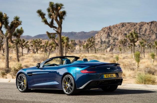 4 630x414 Aston Martin Vanquish Volante