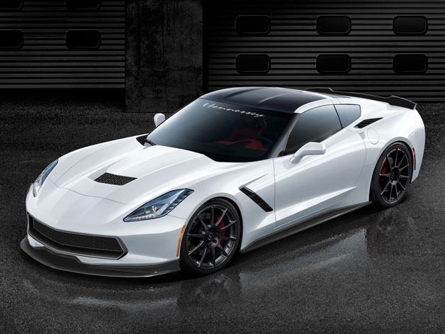hennessey hpe1000 628 O preparador Hennessey revelou os novos kits de potência para o Corvette Stingray