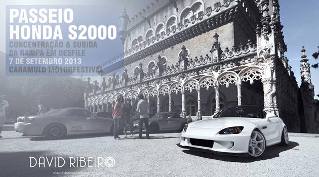 passeio honda s2000 Passeio Clube Honda S2000