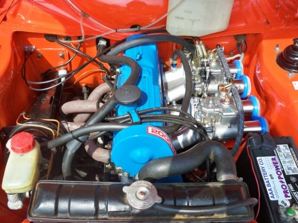 1973_Ford_RS2000_Escort_Mk1_Rally_Race_Car_For_Sale_Engine_resize
