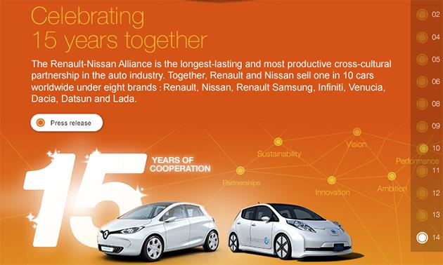 alianca renault nissan Aliança Renault Nissan celebra o 15º aniversário