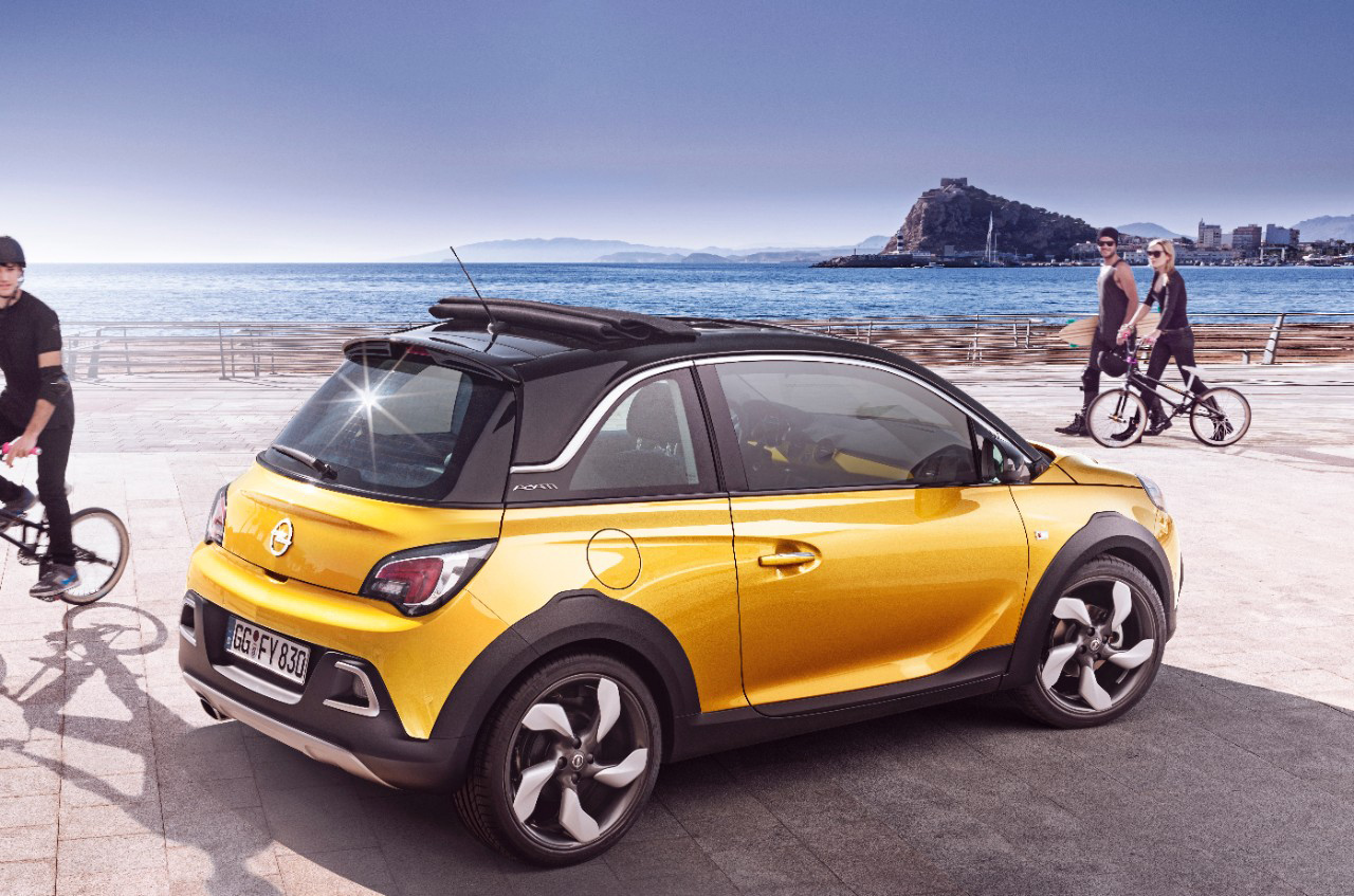 opel adam rocks Quatro estreias mundiais da Opel no Salão de Genebra