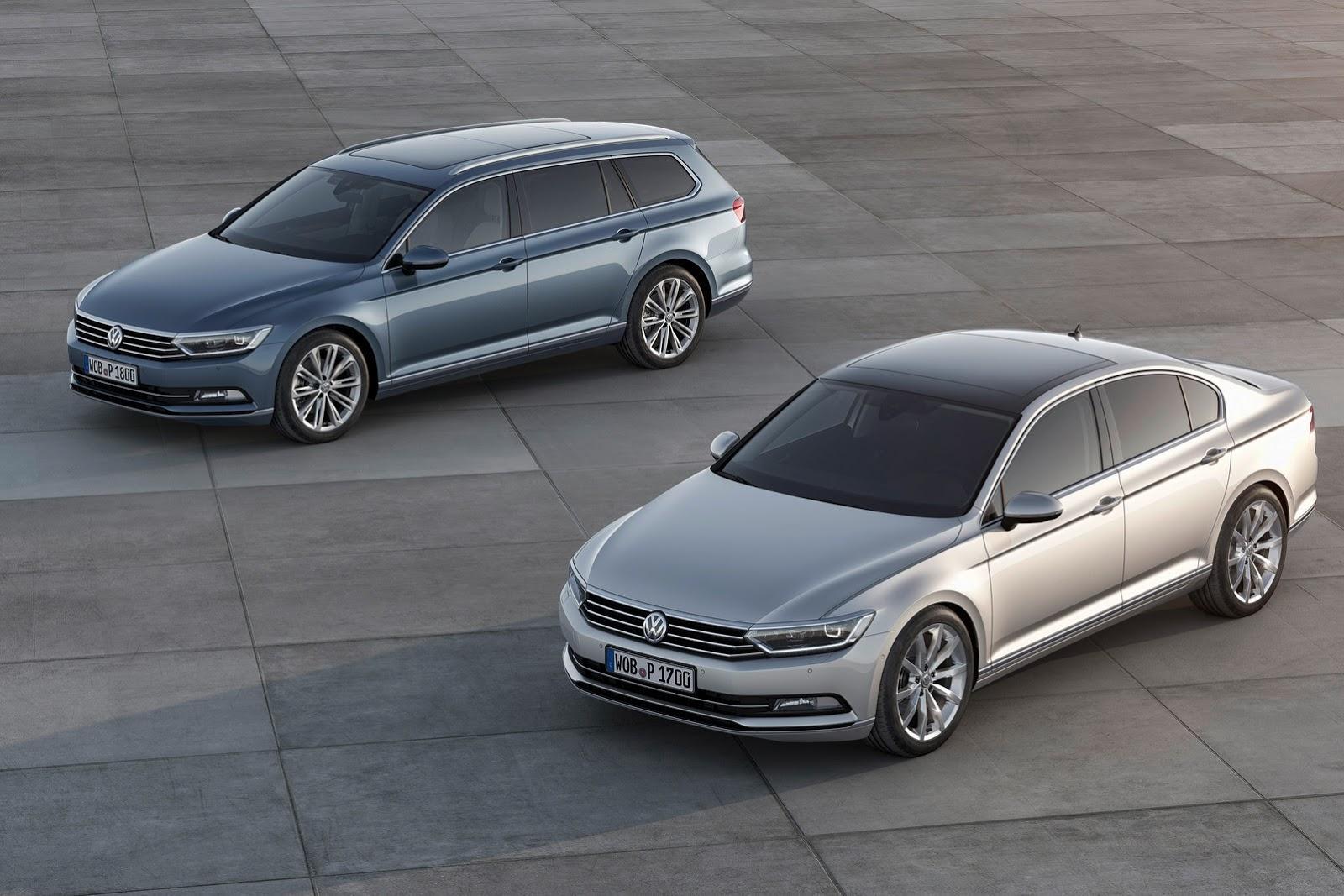 new vw passat 32 Novo VW Passat com motor TDI Biturbo de 240cv