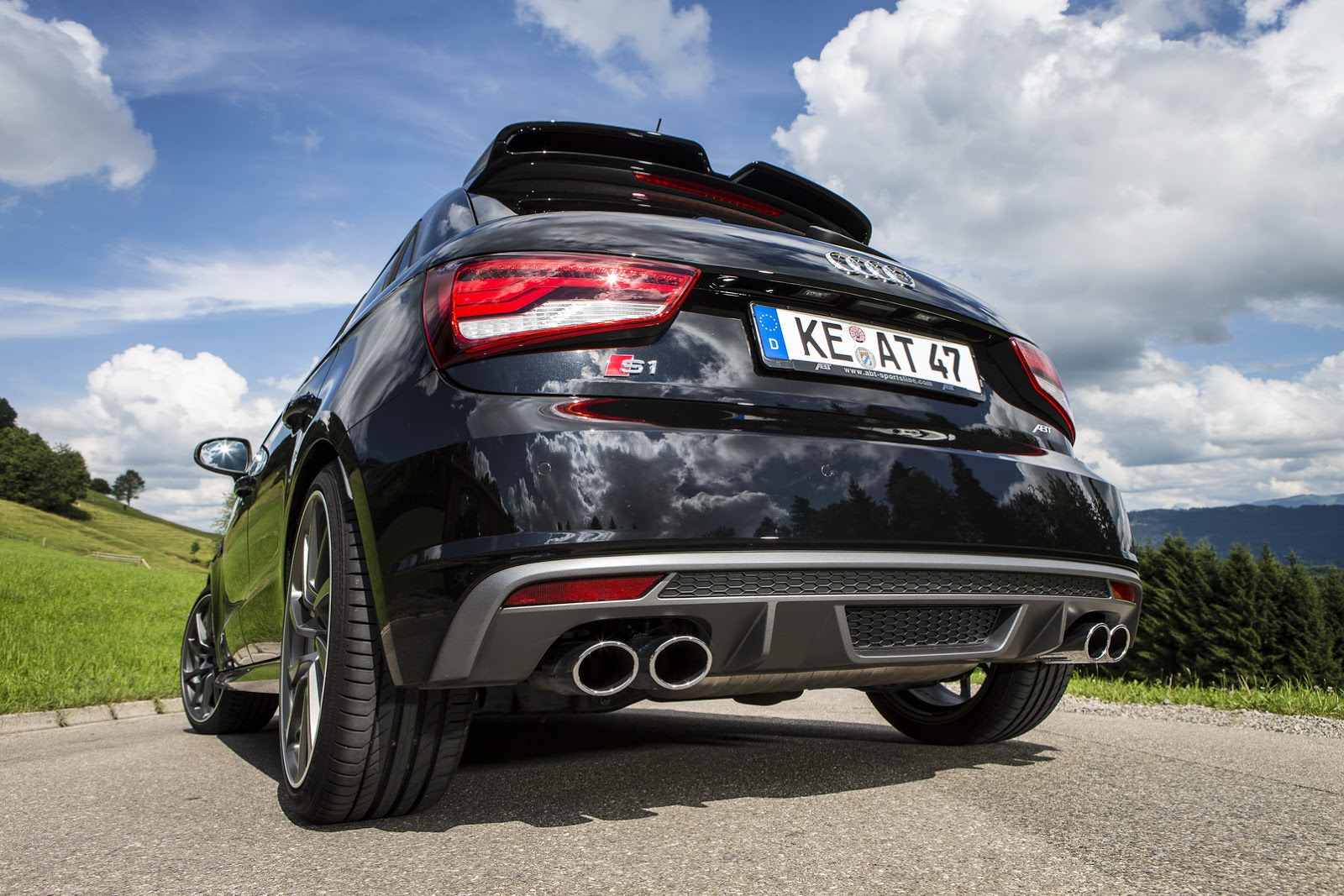 ABT S1 Audi 10 Audi S1 ABT – 310 cavalos de potência