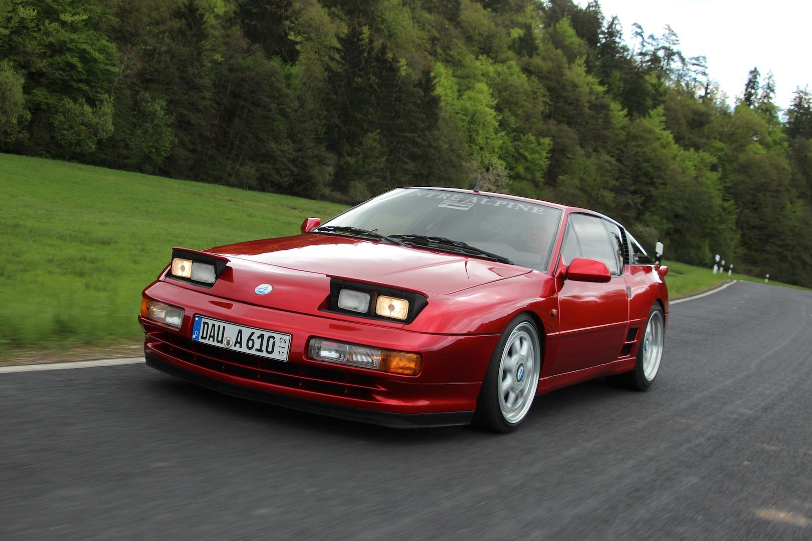 Renault Alpine A610 1991 2 Alpine A610 – Exclusividade francesa