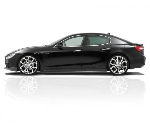 Novitec Maserati Ghibli 11 630x549 Maserati Ghibli Novitec – Mais potência e exclusividade