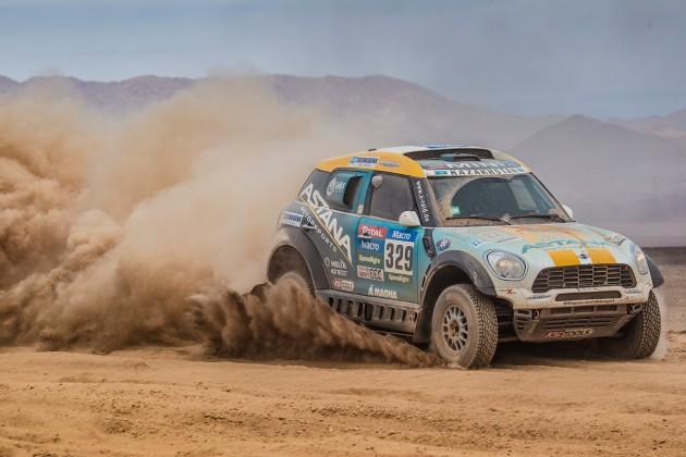 mini dakar 7 630x420 A MINI festejou o seu quarto triunfo consecutivo no Rally Dakar