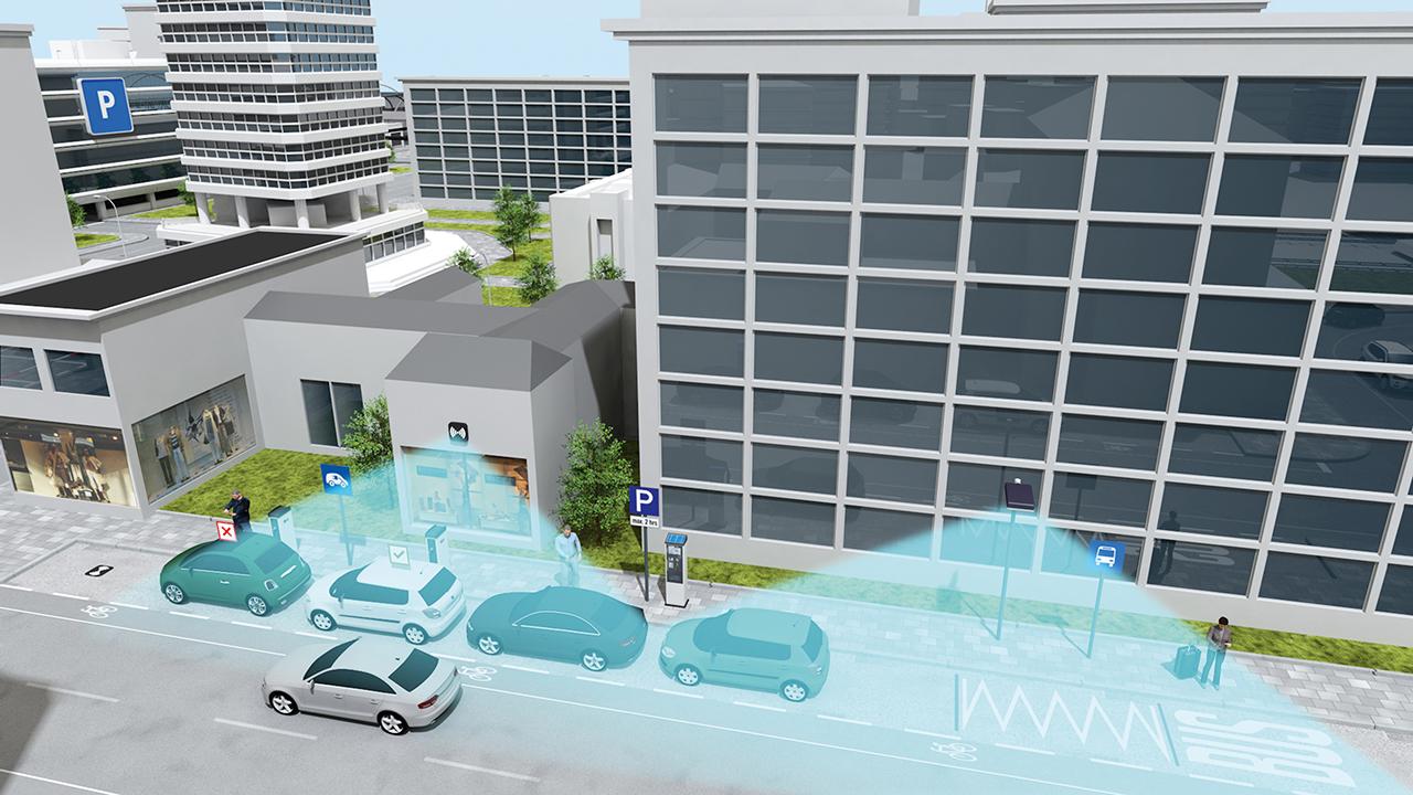 siemens parking Siemens desenvolve sistema de sensores que facilita estacionamento nas cidades