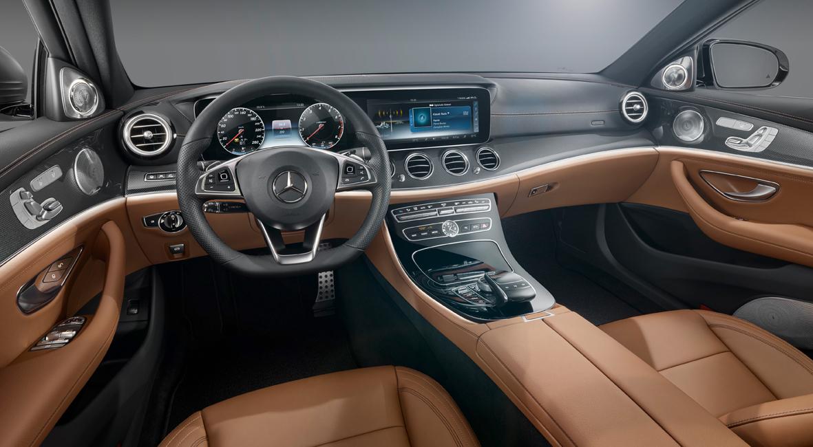 Classe E interior Novo Mercedes Benz Classe E: 10ª geração