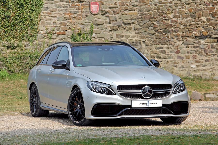 Posaidon Mercedes AMG C 63 T Modell Kombi Tuning fotoshowBigImage f3e27839 918896 Mercedes AMG C 63 pelas mãos do preparador Posaidon alcança os 343 km/h