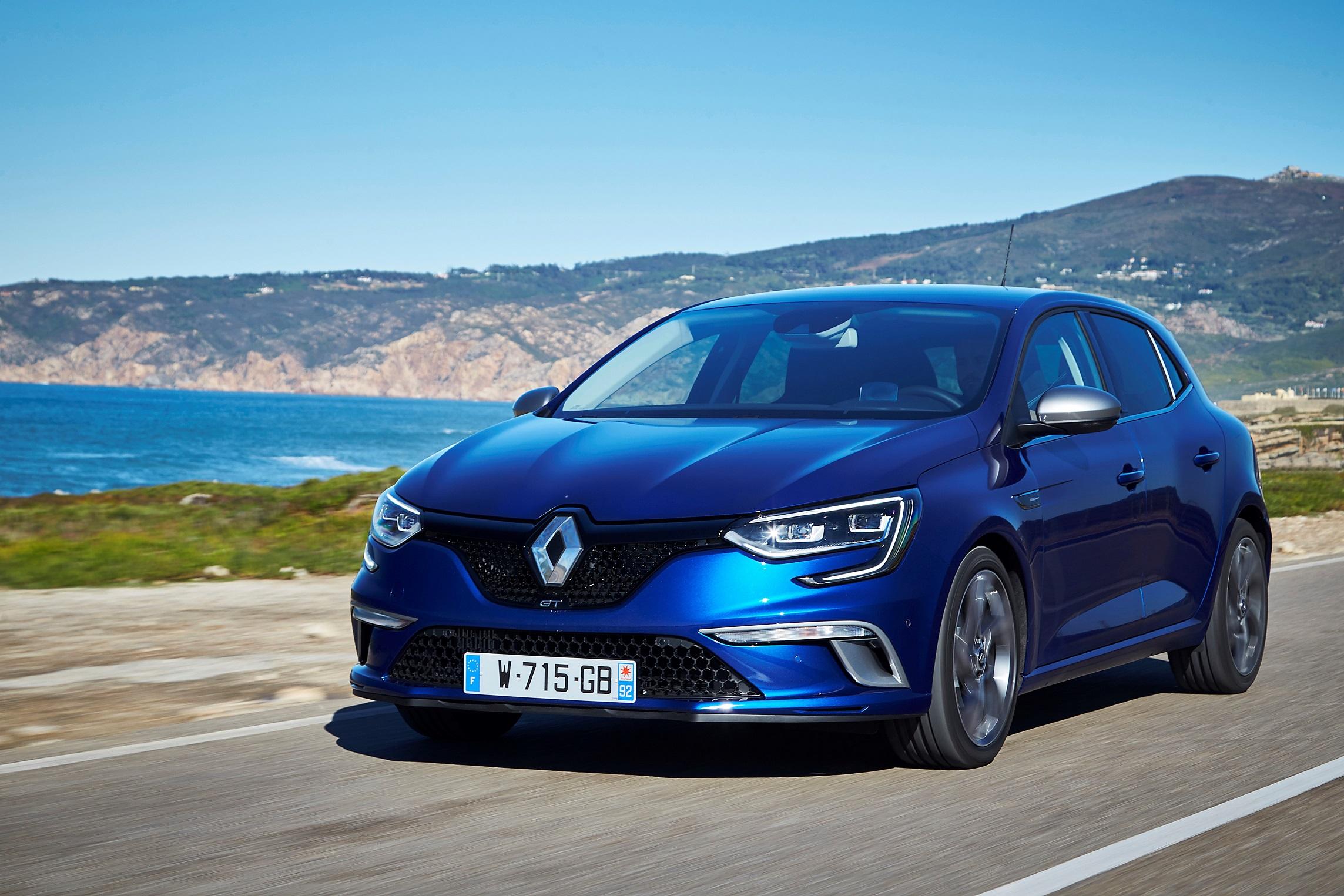 renault megane O grupo Renault obtém a maioridade na liderança