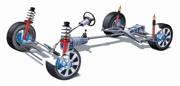 suspensao 630x303 Amortecedores – A sua importância na segurança do seu automóvel